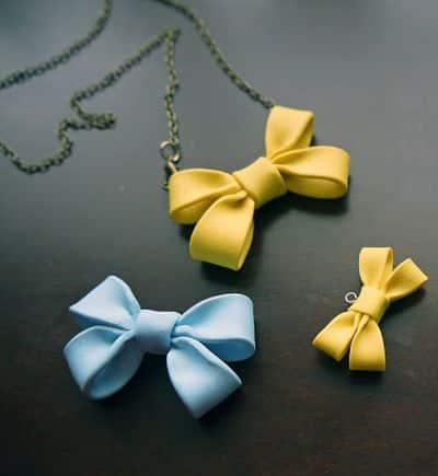Este colar com argila repagina qualquer visual e qualquer look (Foto: mintedstrawberry.blogspot.com.br)