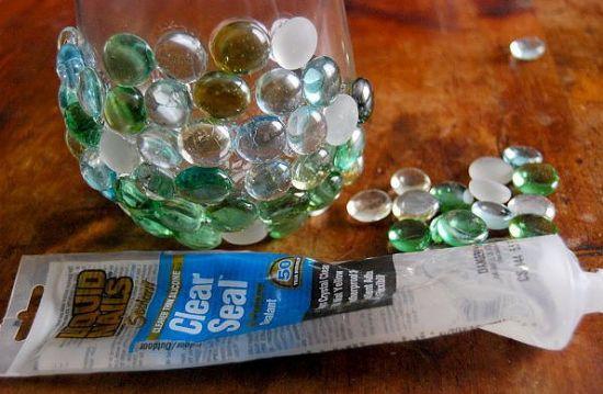 Como decorar um vaso com pedras for Como decorar c