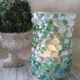 Como Decorar um Vaso com Pedras