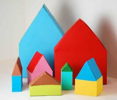 Este simpático artesanato com caixa de cereal encanta também os adultos (Foto: belladia.typepad.com)