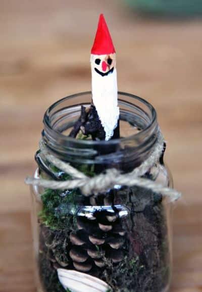 Este simpático minijardim no pote de vidro pode ter o estilo de sua preferência (Foto: bkids.typepad.com)