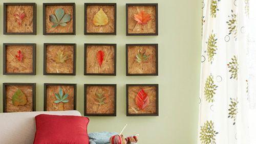 Este quadro decorativo para casas é diferente e renova o décor de seu ambiente sem esforços (Foto: decomanitas.com)