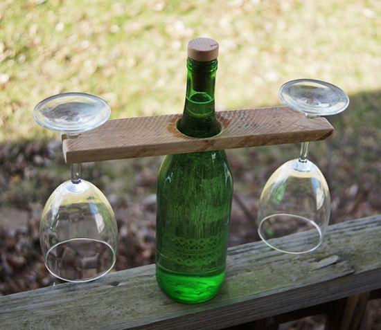 Este suporte para taças vai deixar as suas refeições muito mais charmosas (Foto: savedbylovecreations.com)