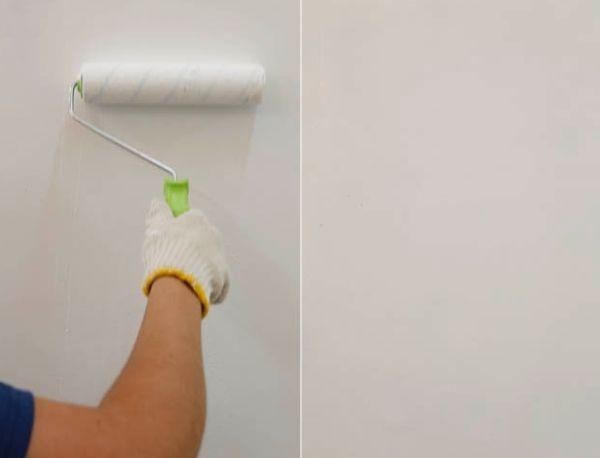 Como fazer pintura carimbo em paredes - Pintura acrilica para paredes ...