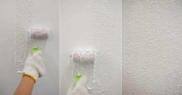 Como fazer pintura carimbo em paredes - Pintura lavable para paredes ...
