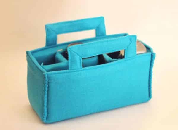 Venda esta bolsa para câmera em feltro e ganhe um bom dinheiro (Foto: howjoyful.com)