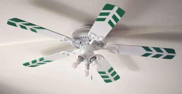 Personalizar ventilador de teto é mais fácil do que você imagina (Foto: howjoyful.com)