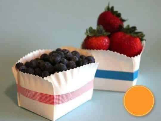 Estes potinhos com pratinho de papel são lindos e fácies de serem feitos (Foto: artesanatodecoreculinaria.blogspot.com.br)