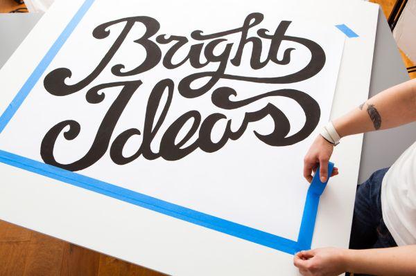 Artesanato com MDF - Faça um painel com letras ilumidadas