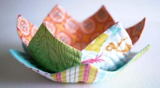 Esta cesta de tecido também é ótima opção para presente (Foto: michelemademe.com)