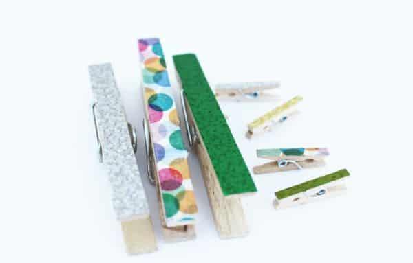 Há infinitas opções de artesanato com Washi Tape, por isso invista em pelo menos uma (Foto: thesassylife.com)