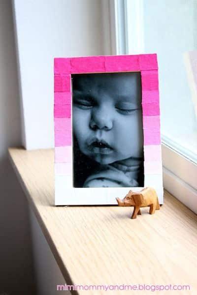 Como Decorar Porta-Retrato com Retalhos de Tecidos