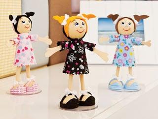 Você pode também vender esta boneca fofucha 3D de EVA (e ter um bom lucro)(Foto: bijupamelamagalhaes.blogspot.com.br)