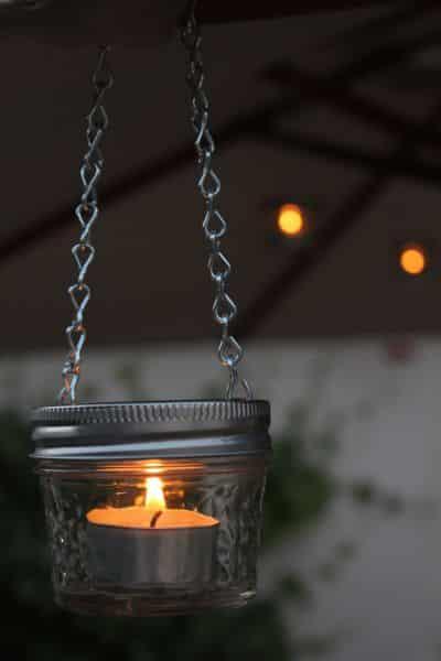 Este sustentável pendente para velas não deixa nada a desejar no quesito beleza (Foto: jennifersmentionables.com)