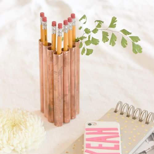 Como Fazer Porta-Lápis Simples e Barato