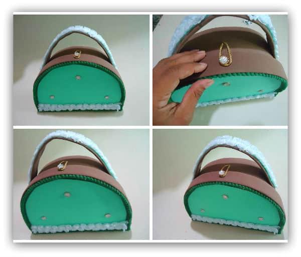 Esta maleta de cartonagem e EVA pode também ter outras cores, se você desejar (Foto: hak.com.br)