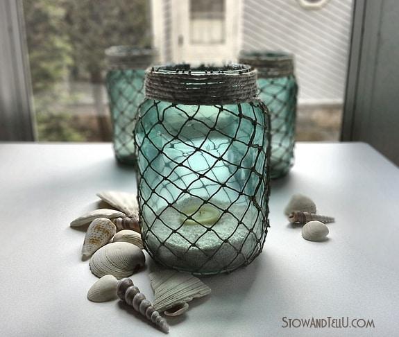 Potes decorativos com cordas além de lindos são também bem baratos (Foto: stowandtellu.com)