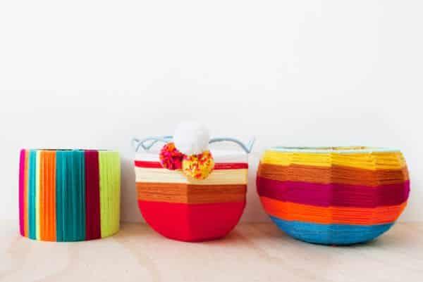 Cestinha de abajur pode guardar o que você quiser (Foto: frankie.com.au)