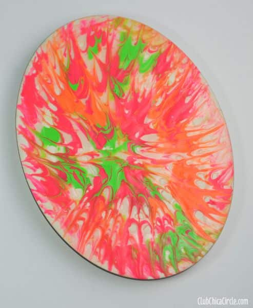 Esta pintura com palitos de dente pode decorar o que você quiser (Foto: club.chicacircle.com)