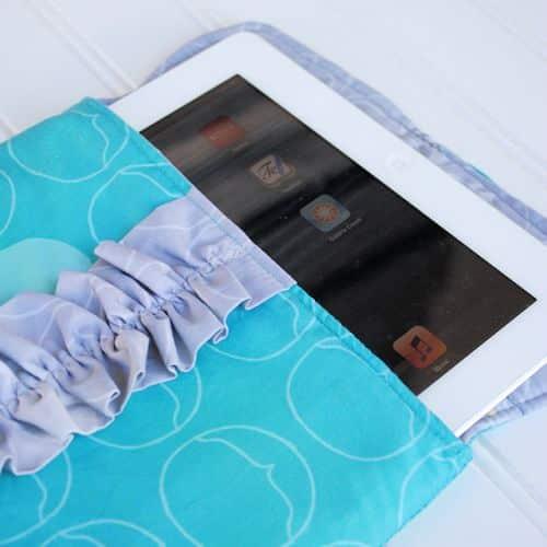 Como Fazer uma Capa para Tablet de Tecido