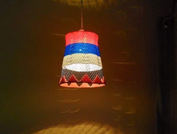 Como Transformar uma Lixeira em Luminária