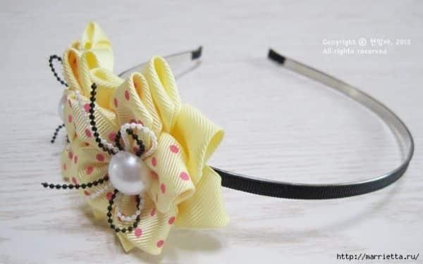 Decorar tiara de cabelo com flores é fácil e barato (Foto: wonderfuldiy.com)