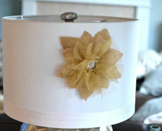 Como Fazer Flor Rústica com Tule