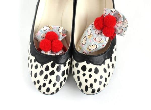 Sachê para sapato é ótima opção para presente e renda extra (Foto: small-good-things.com)