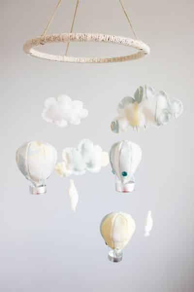 Classroom Mobiles Ideas ~ Como fazer um móbile de balão com tecido