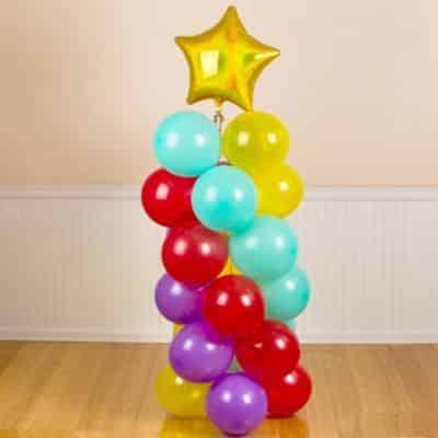 Como Fazer Espiral de Balão Passo a Passo