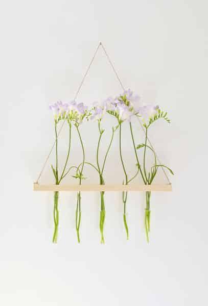 Este suporte de madeira para flores pode ter o estilo e o tamanho que você quiser (Foto: burkatron.com)