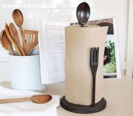 Este suporte para papel-toalha é diferente e faz o maior sucesso (Foto: inmyownstyle.com)