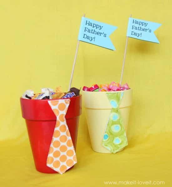 Esta lembrancinha simples para o dia dos pais é também deliciosa (Foto: makeit-loveit.com)