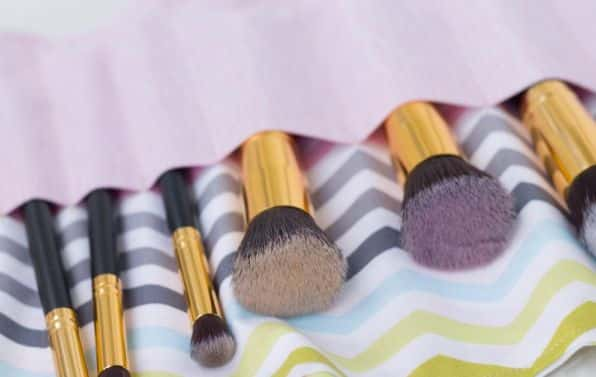 Como Fazer Porta Pincéis de Maquiagem Artesanal
