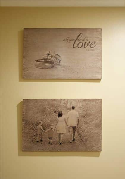 como transferir fotos para a madeira. Black Bedroom Furniture Sets. Home Design Ideas
