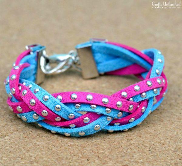 Faça vários destes braceletes de couro para diversificar os seus looks (Foto: craftsunleashed.com)