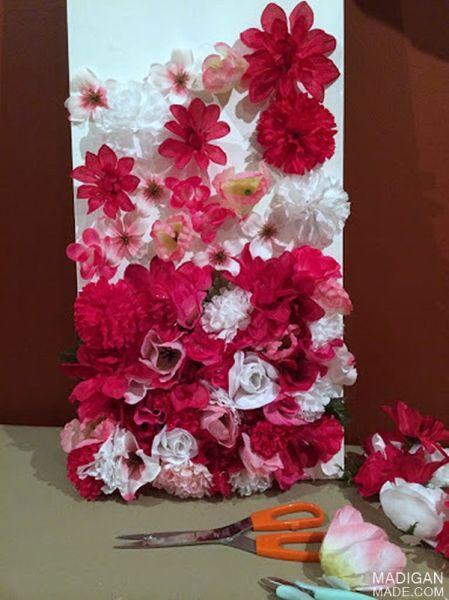 Como Fazer Artesanato Com Flores Artificiais
