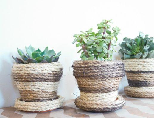 Como Fazer Decoração Rústica em Vaso