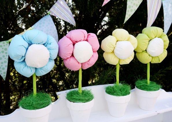 Como Fazer Flores com Enchimento