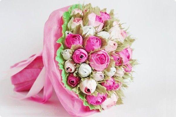 Flor com bombom dentro é linda, deliciosa e encanta a todos (Foto: coolcreativity.com)