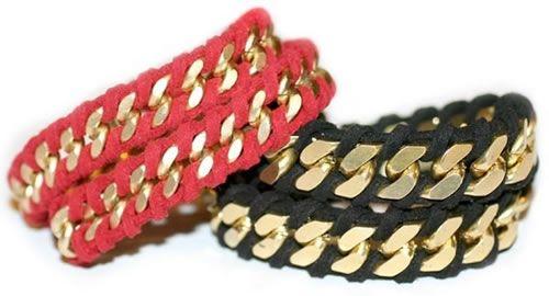 Este bracelete simples é lindo e renova qualquer visual (Foto: guiademanualidades.com)