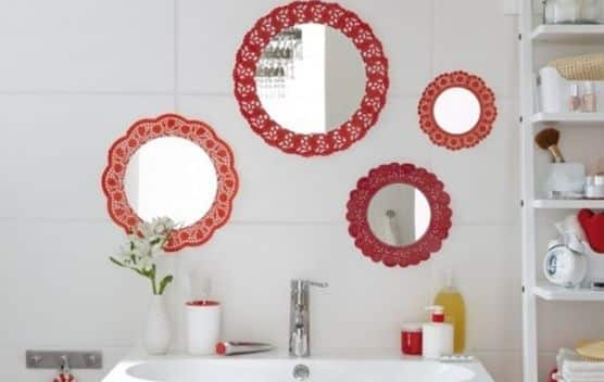 Adesivo De Flores Para Roupas ~ Como Fazer Artesanato Simples para Banheiro