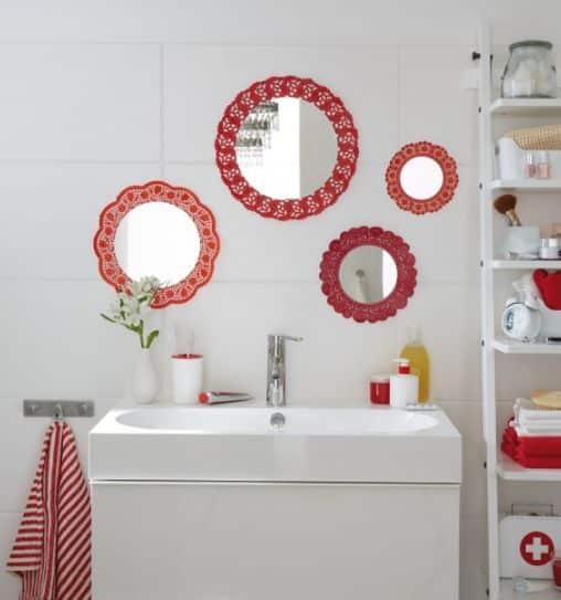 Aparador De Ouro Para Aliança ~ Como Fazer Artesanato Simples para Banheiro