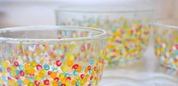 Como Fazer Pintura com Efeito Colorida em Vidros