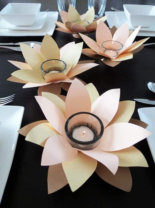 Aprenda como Fazer um Porta Vela de Flores