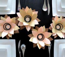 Este porta vela de flores vai fazer o maior sucesso (Foto: dreamalittlebigger.com)