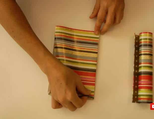 Ideia de Caixa de Bijuterias com Papelão