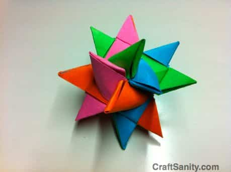 Aprenda como Fazer uma Estrela de Papel para Presente