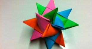 Como Fazer uma Estrela de Papel para Presente