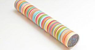 Como Fazer Artesanato com Rolo de Papel-Alumínio